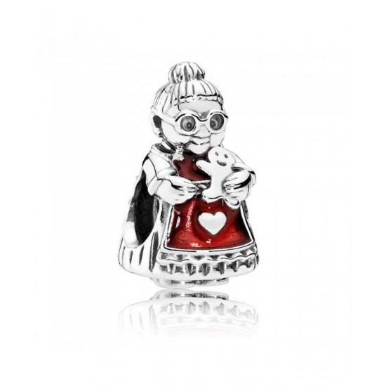 Pandora Charm-Mrs Christmas Jewelry Factory Outlet