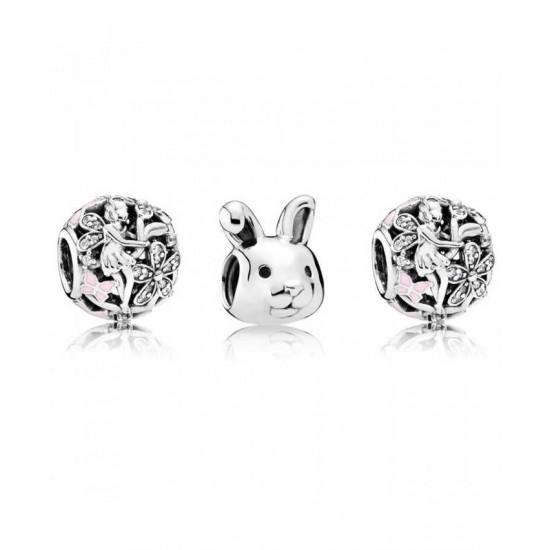 Pandora Charm-Remarkable Rabbit Jewelry Factory Store