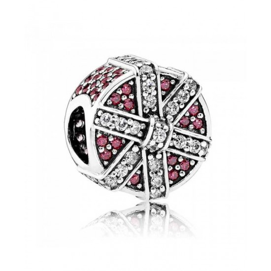 Pandora Charm-Red Shimme Jewelry