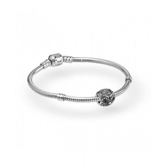 Pandora Bracelet-Silver Wise Owl Complete Jewelry