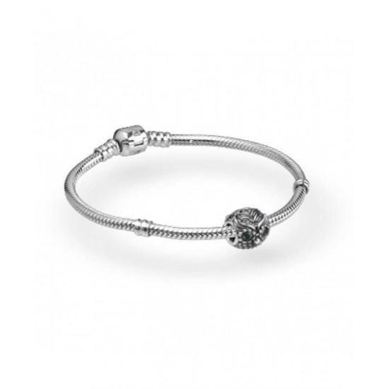 Pandora Bracelet-Silver Wise Owl Complete Jewelry