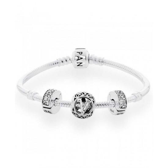 Pandora Bracelet-Vintage V Complete Jewelry