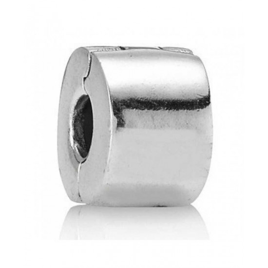 Pandora Clip-Silver Plain Spacer Jewelry