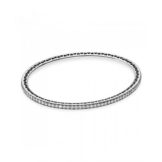 Pandora Bangle-Silver Twinkling Forever Jewelry