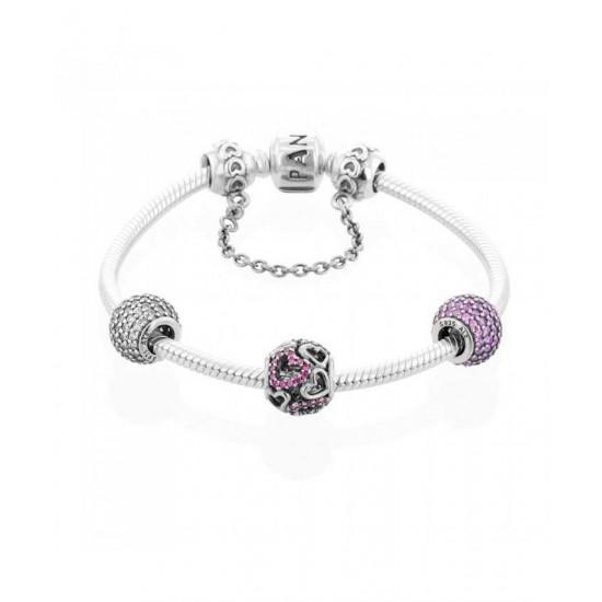 Pandora Bracelet-All My Heart Complete Jewelry