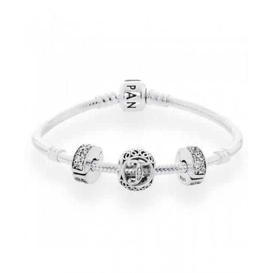Pandora Bracelet-Vintage T Complete Jewelry