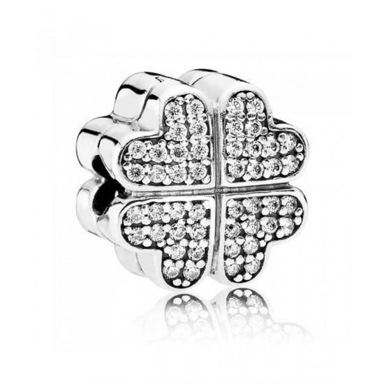 Pandora Clip-Silver Petals Of Love Jewelry