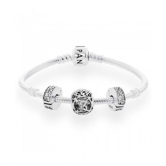 Pandora Bracelet-Vintage K Complete Jewelry