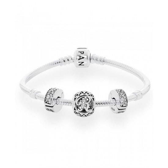 Pandora Bracelet-Vintage R Complete Jewelry