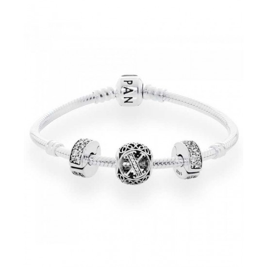 Pandora Bracelet-Vintage X Complete Jewelry