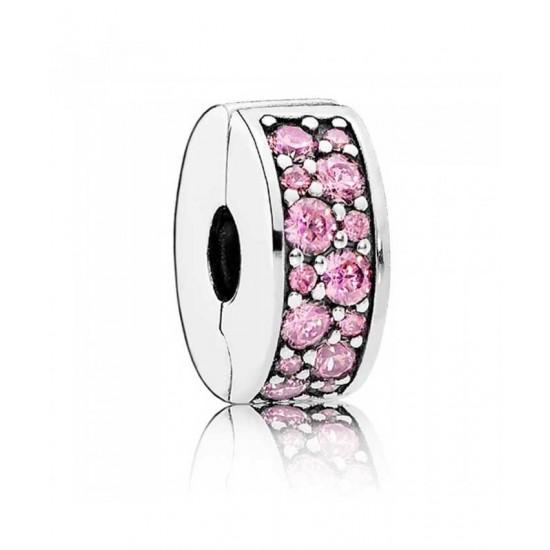 Pandora Clip-Pink Shining Elegance Jewelry
