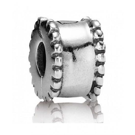 Pandora Clip-Silver Bead Jewelry