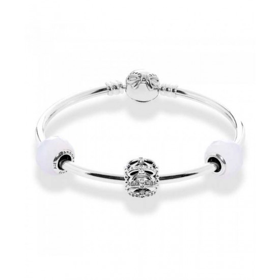 Pandora Bangle-Dainty Bow Complete Jewelry Factory Online