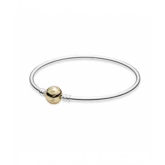 Pandora Bangle-Silver 14ct Clasp Jewelry