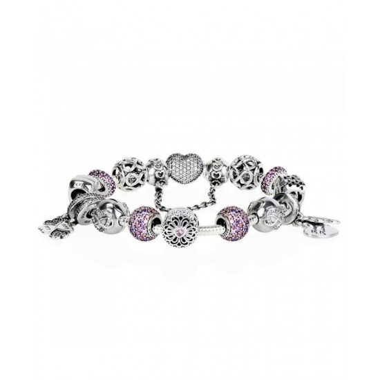 Pandora Bracelet-Best Friends Forever Complete Jewelry