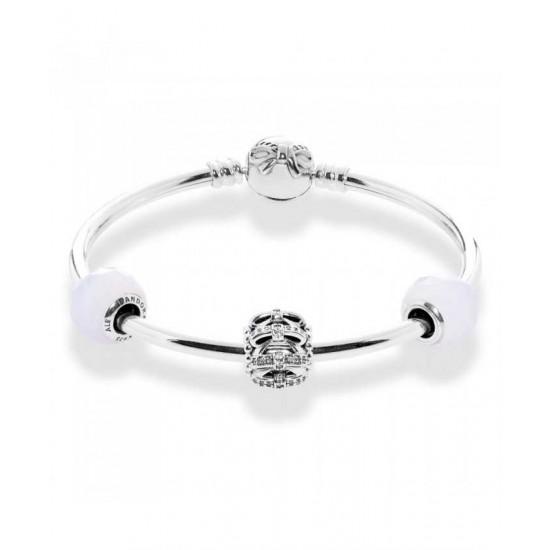 Pandora Bracelet-Dainty Bow Complete Bangle Jewelry