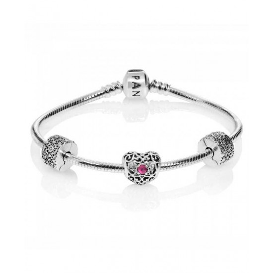 Pandora Bracelet-July Birthstone Complete Jewelry