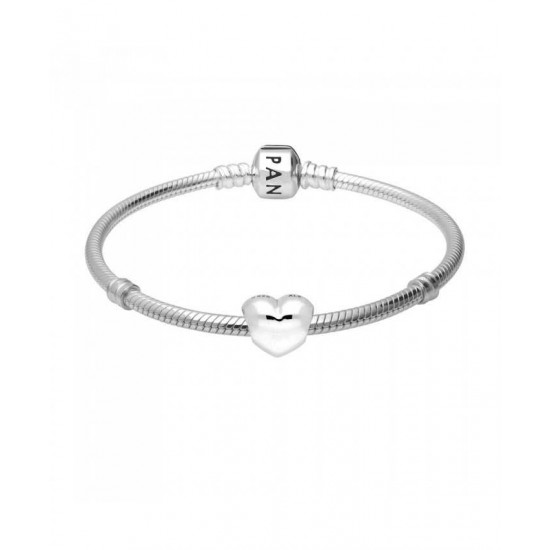 Pandora Bracelet-Love Heart Complete Jewelry