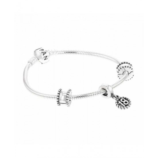 Pandora Bracelet-Silver 18th Celebration Complete Jewelry