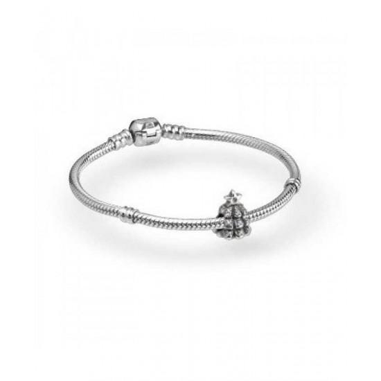 Pandora Bracelet-Sparkling Christmas Tree Complete Jewelry
