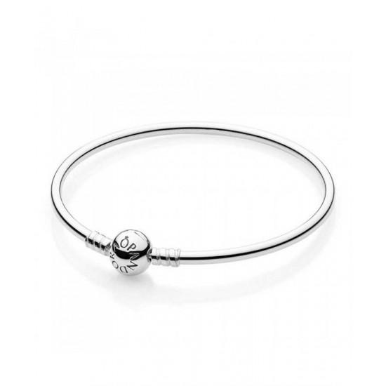 Pandora Bangle-Silver Charm Jewelry
