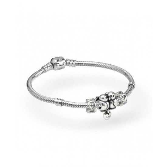 Pandora Bracelet-Love Birds Complete Jewelry