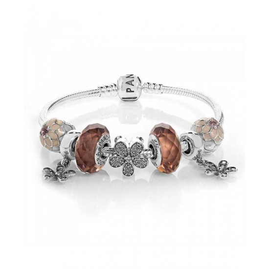 Pandora Bracelet-Poetic Blooms Complete Jewelry Factory Outlet