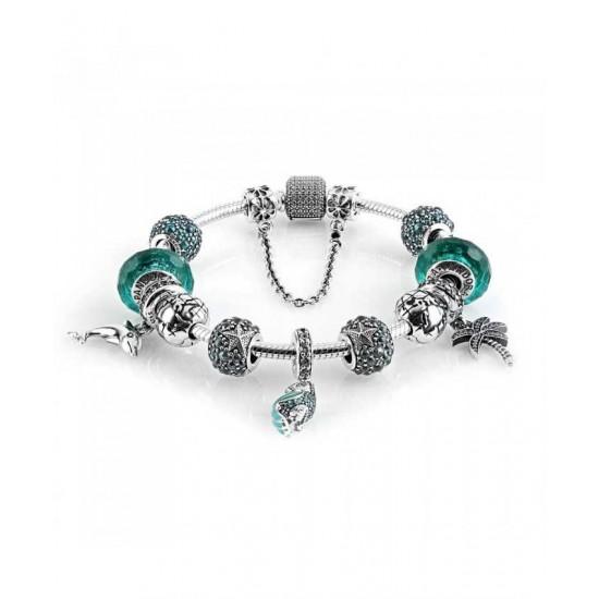 Pandora Bracelet-Tropical Oceanic Complete Jewelry