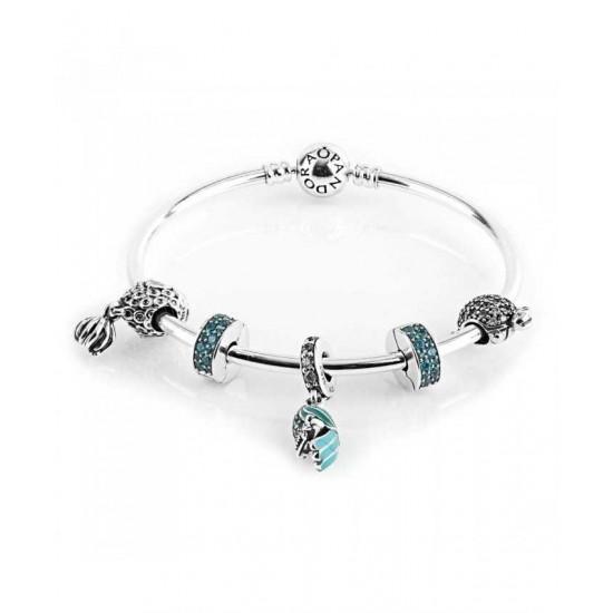 Pandora Bracelet-Tropical Parrot Complete Bangle Jewelry