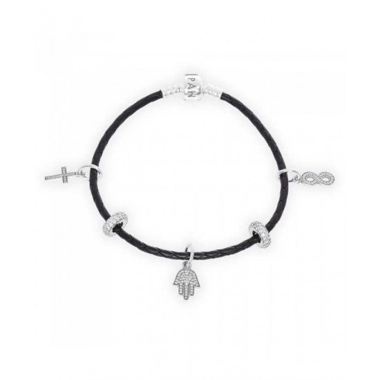 Pandora Bracelet-Faith And Protection Complete Jewelry