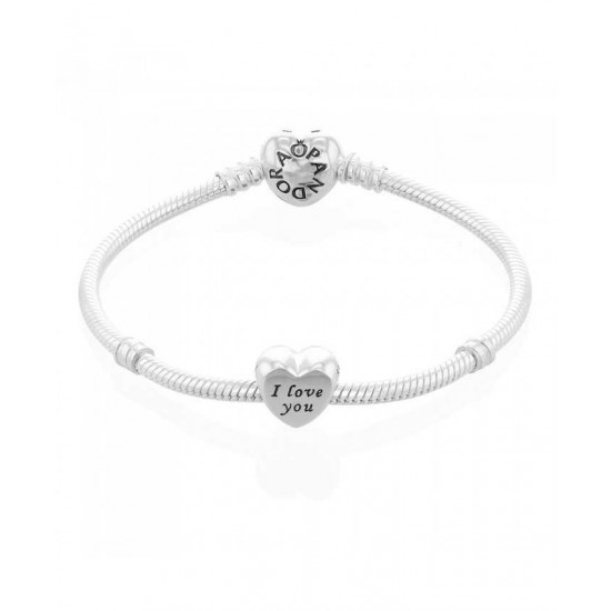 Pandora Bracelet-I Love You Complete Jewelry Factory Outlet