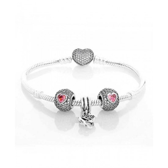 Pandora Bracelet-Intertwined Love Complete Store No Tax