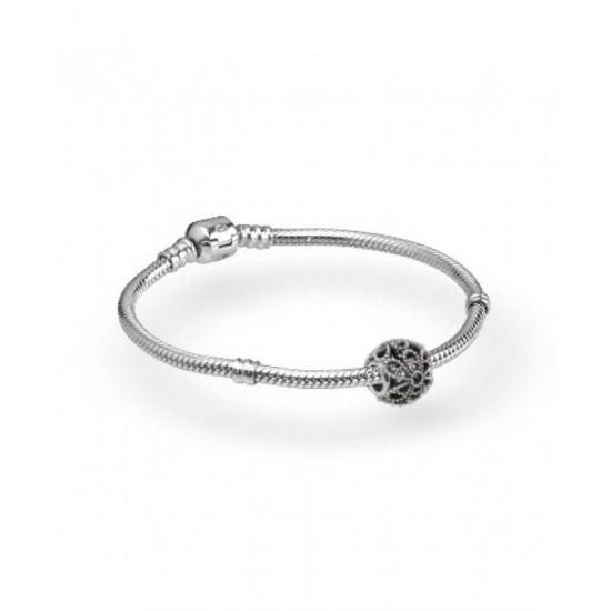 Pandora Bracelet-Roses Complete Jewelry