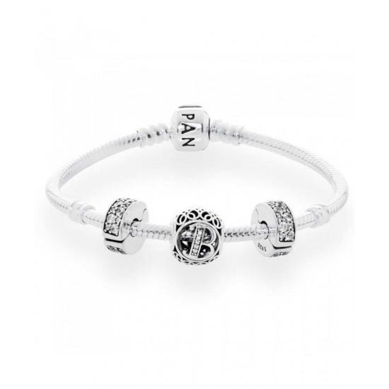 Pandora Bracelet-Vintage B Complete Jewelry