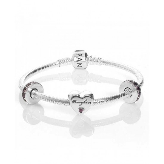 Pandora Bracelet-Daughter Complete Jewelry Factory Outlet