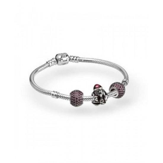 Pandora Bracelet-Sparkling Santa Complete Jewelry