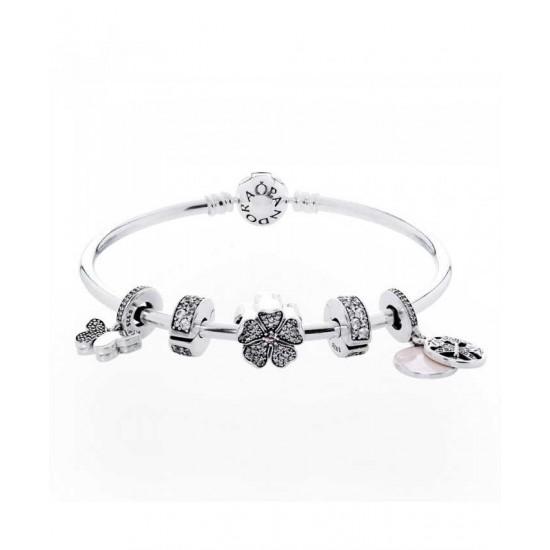 Pandora Bracelet-Sparkling SpRing Jewelry