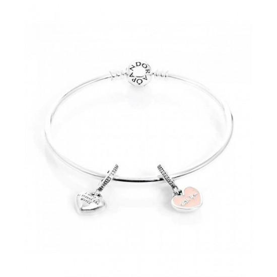 Pandora Bracelet-Travel The World Complete Bangle Jewelry