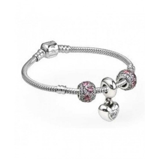 Pandora Bracelet-You And Me Complete Jewelry