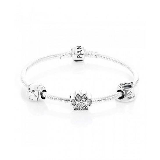 Pandora Bracelet-Devoted Dog Complete Jewelry