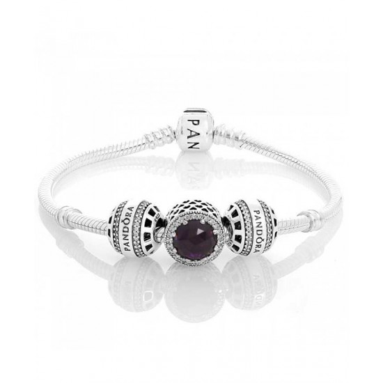 Pandora Bracelet-Forever Radiant Complete Jewelry