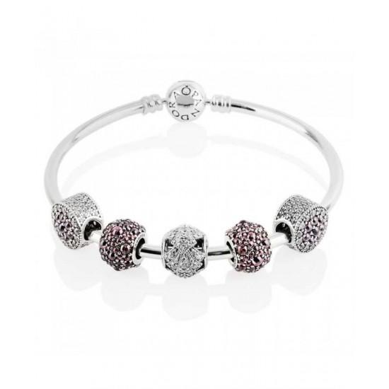 Pandora Bracelet-Oriental Fan Complete Bangle Jewelry
