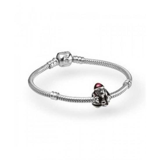 Pandora Bracelet-Red Santa Complete Jewelry