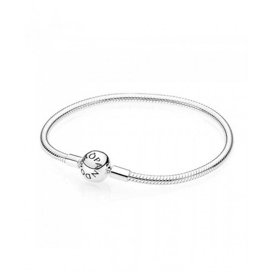 Pandora Bracelet-Silver Moments Smooth Jewelry