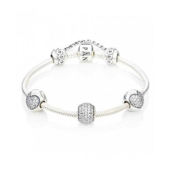 Pandora Bracelet-Sparkling Complete Jewelry