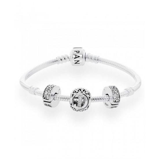 Pandora Bracelet-Vintage D Complete Jewelry