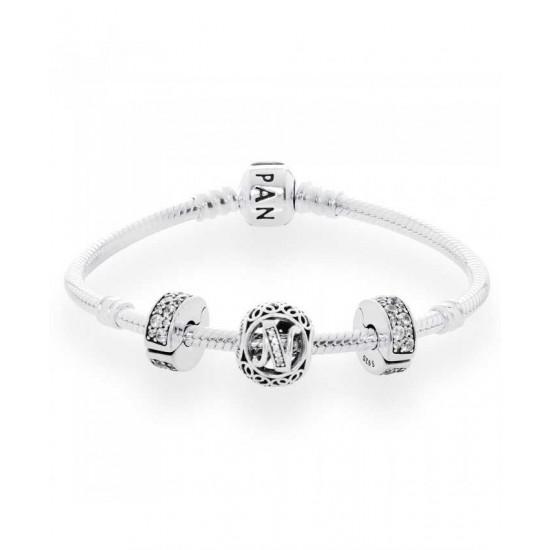 Pandora Bracelet-Vintage N Complete Jewelry