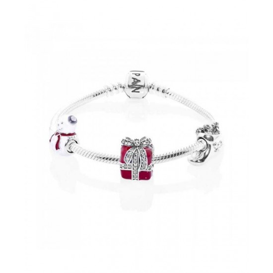 Pandora Bracelet-All Wrapped Up Complete Jewelry