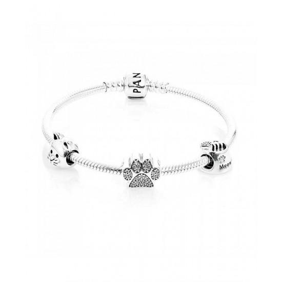 Pandora Bracelet-Curious Cat Complete Jewelry
