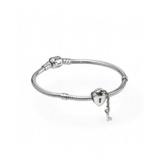 Pandora Bracelet-Silver Secret Lover Complete Jewelry